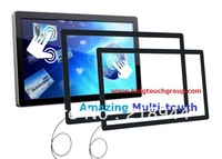 "Hot Selling 37"" USB IR MultiTouch Touch Screen Overlay Kit with 6 Touch From China Manufacturer"
