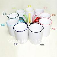 Sublimation 11oz  Border color Mug (9 colors)