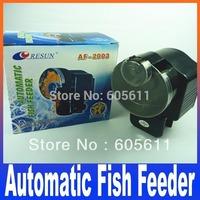 AF-2003 Automatic Auto Fish Feeder, For Aquarium,Auto Aquarium Fish Tank Food Feeder Automatic Feede Free shipping