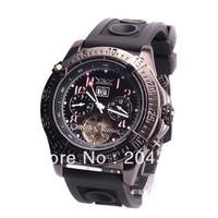 Black Luxury Mens Tourbillon Automatic Mechnical Watch Rubber Wrist Watch Jaragar Men Wristwatches