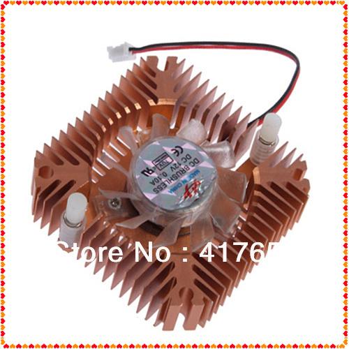 1pcs Cooling Fan Heatsink Cooler For CPU VGA Video Card cool Free shipping(China (Mainland))