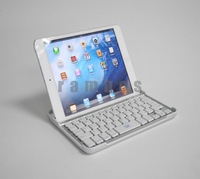 20pcs/lot Silver& Black Ultrathin Mobile Wireless Bluetooth Keyboard for 7.9 inch Tablet PC for iPad Mini