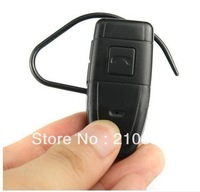 New arrivals Bluetooth Earphone Style Headset Mini DV DVR Hidden Camera Video Recorder 4GB