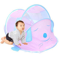 High quality fabric cartoon child mosquito net baby foldable travel mosquito net