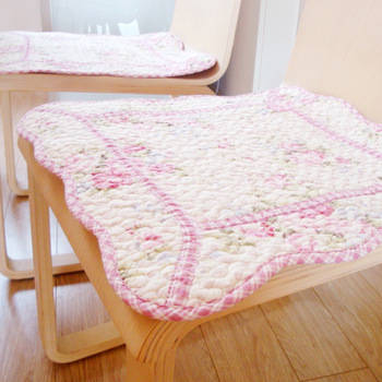 Gorgeous . pink rose thin fabric cushion cover 45 X 45cm cushion dining chair cushion chair pad cover