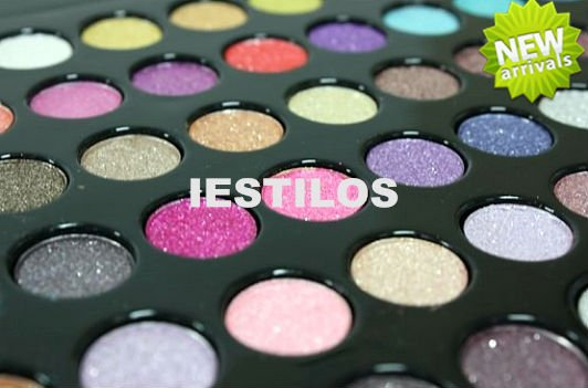 High Quality Professional Full Color Eyeshadow Palette Eye Shadow Glitter Powder Makeup Free Shipping(China (Mainland))