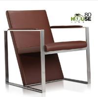 Recreational chair leather art chair ,recreational chair ,chair of single person sofa hardware
