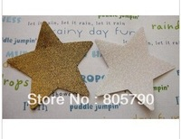 100 pairs sexy nipple cover, morphing gold, star-shape