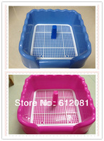 dog toilet indoor  Dog fence mesh resin toilet  potty pet,pet toilet Cleanness pet toilet with mesh plate   pet litter tray
