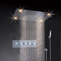 led ceiling shower head,led light shower head embeded ceiling mount shower mixer