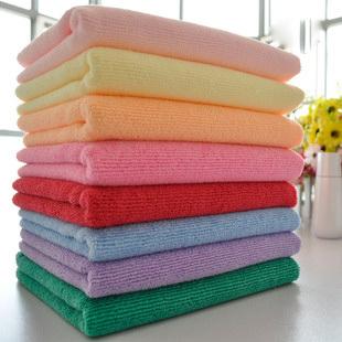 Free Shipping!! 10pcs/Lot Microfiber Fabric Towel 35*73CM Salon Towel 70g(China (Mainland))