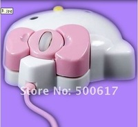 High Quality Mice PC Laptop USB Hello Kitty Optical 1200dpi Mouse Free shipping UPS EMS DHL