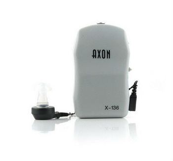 Free Shipping New Best Sound Amplifier Adjustable Tone Hearing Aids Aid ATON X-136 for Old
