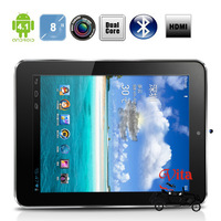 Cube U9GT3 android 4.0 Tablet PC 8inch IPS 5 Point Capacitive Touch Screen Dual Core RK3066 1.6Ghz 1G RAM 16G HD Camera WIFI