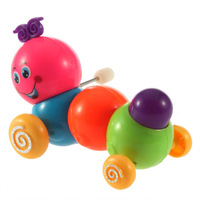 Funny Cute Baby Kids Colorful Inchworm Twist Forward Movement Toy  Hot Selling