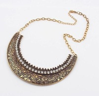 Min order is 15USD(Can mixed item) Fashion 2013 Vintage  Bubble Bib Party Statement Necklace ,False Collar Freeshipping