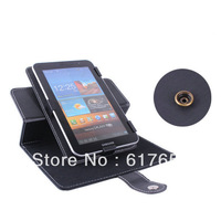 "360 degree rotation Magic Rotary Leather Case For 7""Samsung Galaxy Tab 2 GT-P3113/GT-P3110 / P3100/P3110 Tablet Free shipping"