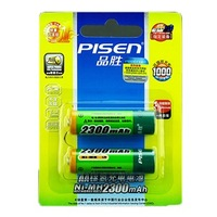 PISEN 5 2 2300 aa ni-mh rechargeable battery rechargeable battery
