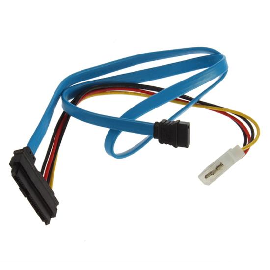 Serial ATA to SAS New arrival 7 Pin SATA 29 Pin & 4 Pin Cable Male Connector Adapter(China (Mainland))
