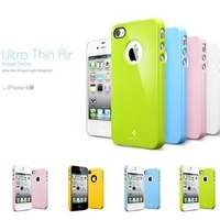 Sgp ultra thin for iphone 4 4s ice cream color covers shell mobile phone case protective case