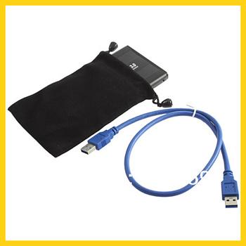 """1pcs Jumping Price Hard Drive SATA 2.5"""" USB 3.0 HDD Case External Enclosure Box Wholesale Dropshipping"""