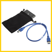 "1pcs Jumping Price Hard Drive SATA 2.5"" USB 3.0 HDD Case External Enclosure Box Wholesale Dropshipping(China (Mainland))"