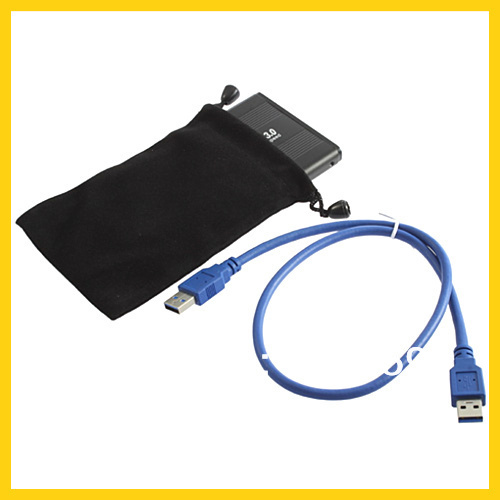 "Jumping Price 2.5"" USB 3.0 HDD Case Hard Drive SATA External Enclosure Box Wholesale Dropshipping(China (Mainland))"