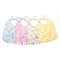 Free shipping wholesale GOOLEKIDS 2013 new arrival 100% pure cotton feeding baby bibs Infant saliva towel