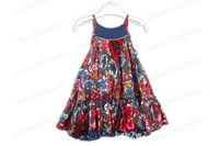 2014 Top Fasion Special Offer Pattern Vestido Frozen Peppa D010705*new* Dress for Children Kids Bohemia Style Baby Girl Pcs/lot