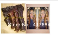 queen human hair: Malaysia deep curl bulk hair natural black 1b no dye can be dyed 300g by DHL OR UPS