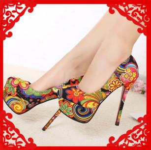 new fashion sexy wedding platform high heels women pumps women's spring autumn autumn shoes woman #R0103612H