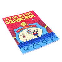Free shipping Magic props Large cartoon book cartoon book magic comic book