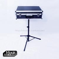 Free shipping Magic box props tripod color box magic table magic box air box circarc