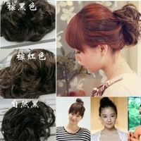 8pcs/ lots  Free shipping Rubber rope elastic wig headband hair bun large hanamaki the bride hair style maker hair accessory