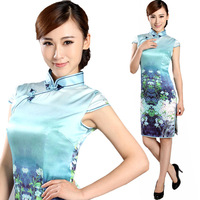 2013 new chinese style summer fashion vintage cheongsam freeshipping