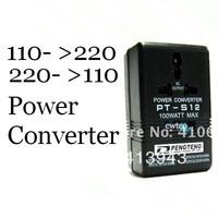 220V To 110V / 110V To 220V 100W Voltage Power Converter , Free shipping
