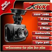 Freeshipping High-Quality Ambarella CPU G8000H Gs8000 FullHD1920*1080P 30FPS 170 Degree Car DVR Recorder Video Box G-Sensor