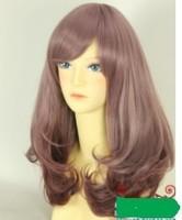 Rainbow wig HARAJUKU gradient pear beauty cos wig HARAJUKU