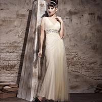 Creative fox brief bag shoulder strap evening dress formal dress long design formal dress 81151