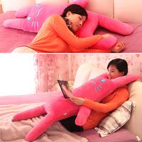 Pillow cartoon rabbit baby pillow rabbit cushion long pillow plush doll