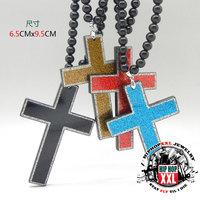 Jesus corss jesus cross goodwood acrylic h hiphop necklace good wood