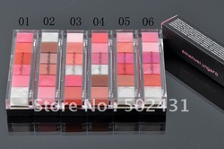 Top quality brand cosmetics lip gloss make up lipglass,makeup 6 colors lip blam palette drop shipping(China (Mainland))