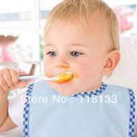 Free shipping wholesale GOOLEKIDS 2013 new arrival bamboo fibre waterproof feeding baby bibs Infant saliva towel