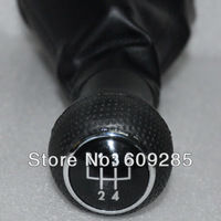 5 Speed Gear Stick Shift Shifter Lever Leather Knob Wicked for vw Golf MK4 JETTA Bora