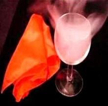 The empty cup smoke magic tricks,illusions,card tricks novelties,magic tricks product.paper magic.magic toys. games(China (Mainland))