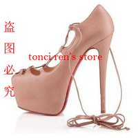Newest design,16cm super high heel shoes,high heel  sandal size eur 34 to 46,party shoes,free shipping, good quality