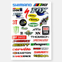 2013 New Arrival Bicycle Stickers Mountain Bike Applique
