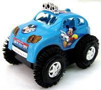 MICKEY dump-car electric stunt car toy electric model car toys Mini car toys free shipping