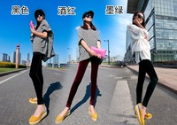 2013 spring and autumn multicolour gold velvet slim legging,miss me women jeans pants. woman cheap colorful leggings   pants