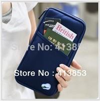 Fashion New Travel Passport Credit ID Card Cash Holder Organizer Wallet Purse Case Bag Best Gift wholesale C0440